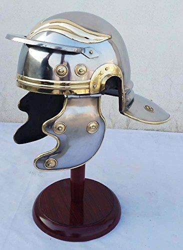 Shiv (TM Shakti Unternehmen tragbar Mittelalter Armour Roman Gälische Sprache Trooper Helm Griechisch Centurion Helm ()