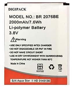 Battery For Intex Aqua Star Li-ion HD Br2076