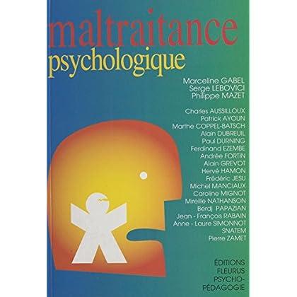 Maltraitance psychologique (Psychopédagogique)