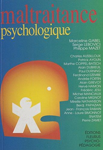 Maltraitance psychologique (Psychopédagogique) par Marceline Gabel