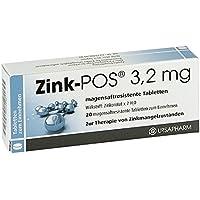 Zink-POS 3,2 mg, 20 St. Tabletten preisvergleich bei billige-tabletten.eu
