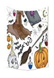 Best Mandala Crafts Friend For Boy And Girls - iPrint Halloween Decorations Collection Magic Spells Theme Witch Review