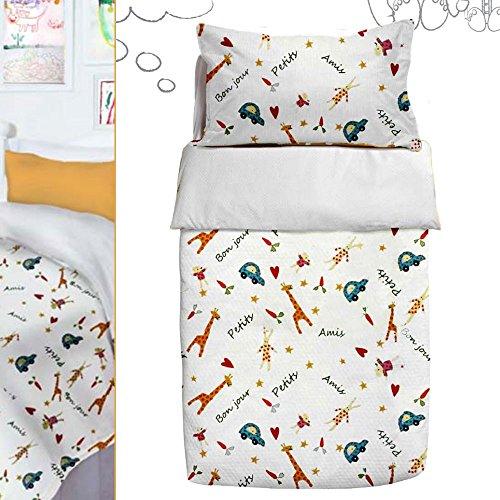 610033 Saco Nórdico Invierno Cuna 60x120cm LittlePetit White (Obsequio Guía de guías para