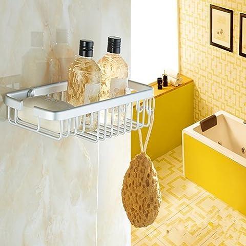 L'Espace Aluminium cassette de savon Crochet de salle de bain à suspendre Porte Savon Rack, 325* 120mm