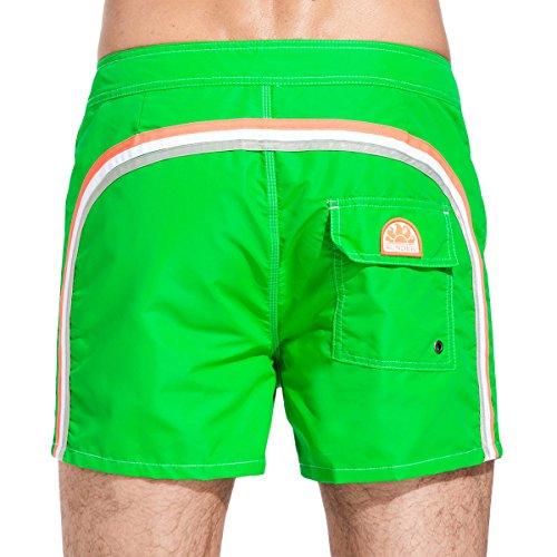 Preisvergleich Produktbild SUNDEK - Badeshorts - Herren - Grüne Badehose, gestreift für herren - 31
