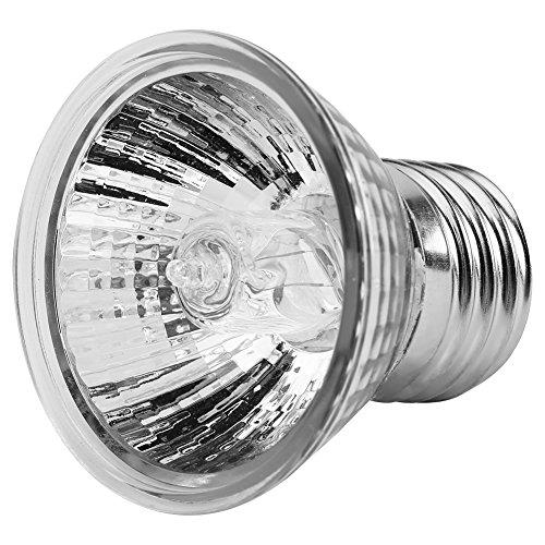 Zerodis 25W / 50W calefacción Bombilla Acuario Sunbath lámpara Tortugas Calor emisor con E27 zócalo...