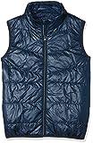 NAME IT Jungen Weste Nkmmylan Vest, Grau (Dress Blues Dress Blues),140