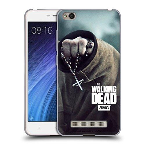 Offizielle AMC The Walking Dead Rosenkranz Schlüssel Kunst Soft Gel Hülle für Xiaomi Redmi - Rosenkranz In Kunst Der Der