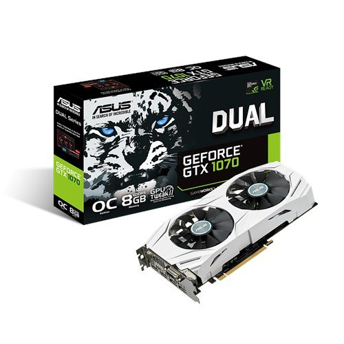 GeForce GTX 1070 Dual 8GB DDR5 256BIT DVI/HDMI/DP OVERCLOCK