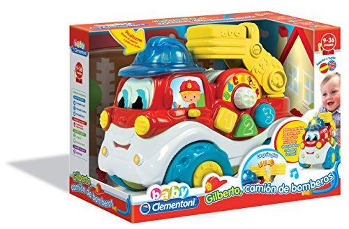Baby Clementoni Gilberto, el camión de bomberos (550739)