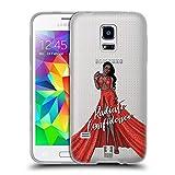 Head Case Designs Schwarze Schönheit Frauenverschiedenheiten Soft Gel Hülle für Samsung Galaxy S5 Mini