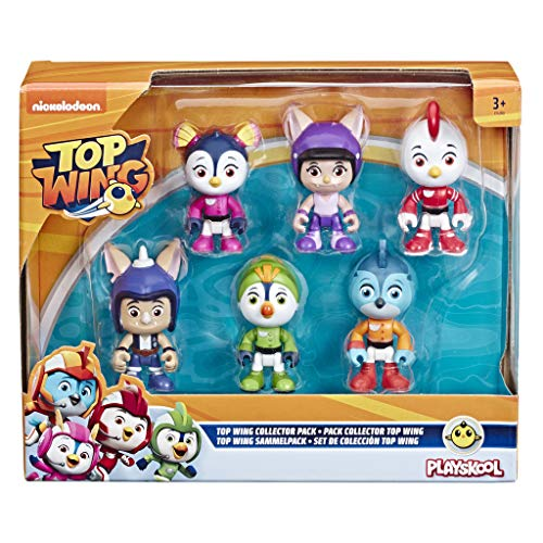 Hasbro Top Wing - Collection Pack da 6 Personaggi, 7.5 cm, Multicolore