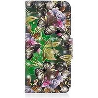 Kucosy Samsung Galaxy A6Plus (2018) 3D gemaltes patrón Cuero PU Folio Cartera Funda Patrón Pintura Funda Móvil, antiarañazos de Funda Back Cover para Samsung Galaxy A6Plus (2018)