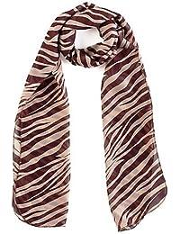 Zebra Animal Print Women's Chiffon Scarf