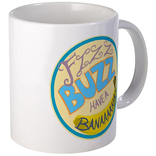 CafePress–Kabine Druck: Fizz Buzz–Tasse, weiß, Mega (Kabine Drucke)