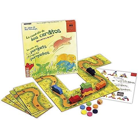 Devir - Cuadrilla de los cerditos, juego de mesa (221442)