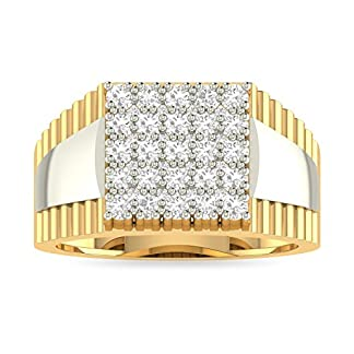 PC Jeweller The Loket 18KT Yellow Gold & Diamond Rings
