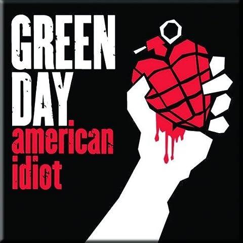 Green Day Demolicious - Magnet Metal Green
