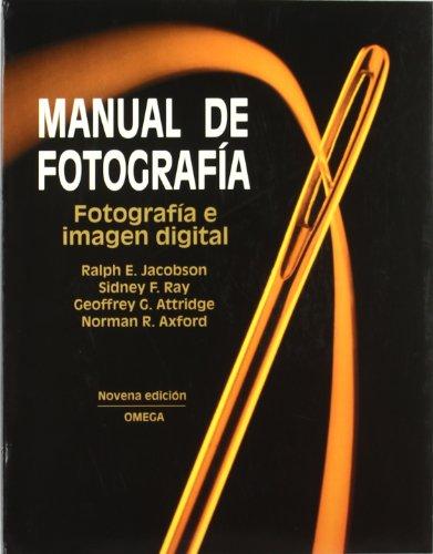 MANUAL DE FOTOGRAFIA, 9/ED.
