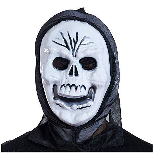 eton Scream Ghost Maske Horror Kopfbedeckungen Devil Mask Scream Lustige Scary Gesichtsmaske ()