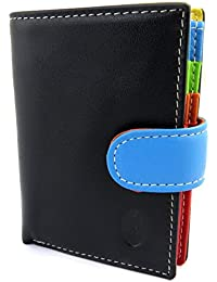 Francinel [L8709] - Porte-cartes 'Bergamo' noir multicolore