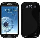 Funda de silicona para Samsung Galaxy S3 Neo - S-Style negro - Cover PhoneNatic Cubierta