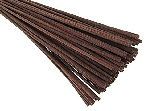 haleine Me TM EN ROTIN Naturel Diffuseur de rechange Stick 30,5 cm x 3 mm-Brown, Bois dense, marron, 50