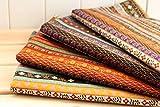 4Stoffe EXOTICAS afrikanischen Farben 'von 50x 70cm