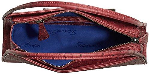 Fritzi aus Preussen Greta FaP-HW3-14-10 Damen Schultertaschen 31x8x8 cm (B x H x T) Rot (Rubin-Os)