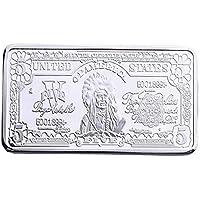 xinzhi - Moneda Conmemorativa de Recuerdo Moderna (5 chapada en Oro DE 24 Quilates, 0,999999), Color Dorado