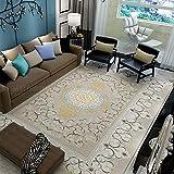 Aishankra B25 Home Rutschfest Carpet Europäischen Stil Bedend Bedside Blanket Room Area Teppiche Mat,E,6'6''X9'5''/200X290CM