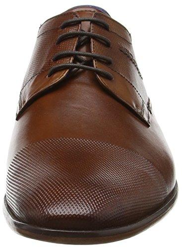 Daniel Hechter811119011100 - Scarpe stringate Uomo Marrone (Braun (cognac 6300))