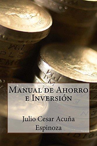 Manual de Ahorro e Inversión por Julio Acuña Espinoza