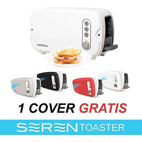 Seren Toaster Mehrzweck-Toaster mit abnehmbarem Wagen