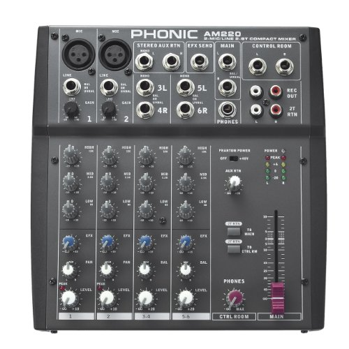 Phonic AM220 Mesa de mezclas