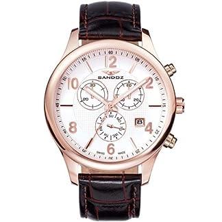 Reloj Suizo Sandoz Caballero 81369-85 Elegant Collection