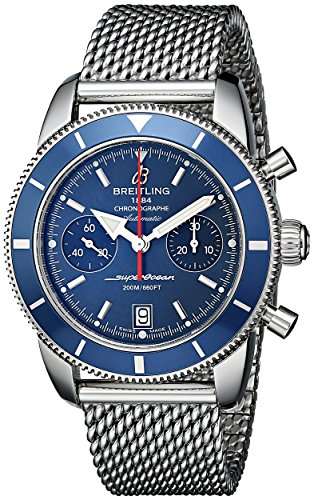 Breitling Men's Superocean 44mm Chronograph Automatic Date Watch...