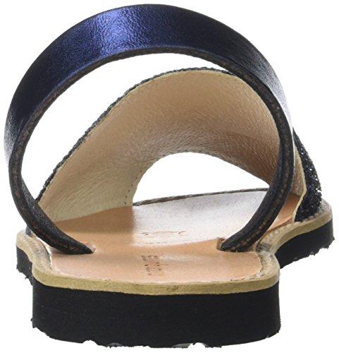 Minorquines Avarca, Sandali Donna Blu (Azul2)