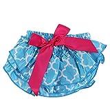 Zerodis Baby Stoffwindel Windel Wiederverwendbar Weich Höschenwindeln Einstellbar Geburtstag Baby Shower Geschenk für Neugeborenen(Blau)