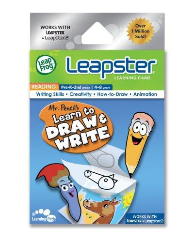 LeapFrog Leapster Jeu : Monsieur crayon pour apprendre à dessiner et d'écriture