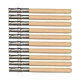 Ndier 10pcs Strumento Art School di scrittura Extender regolabile Holder estensore Premium Pencil estensore Cancelleria e Prodotti per Ufficio