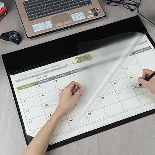Eagle Tabelle (Easy Eagle monatliche Schreibtischauflage Kalender Büro Zeitplan Erinnerung Memo, Januar 2018 - Februar 2019, 22,5 x 17 Zoll (1 Stück))