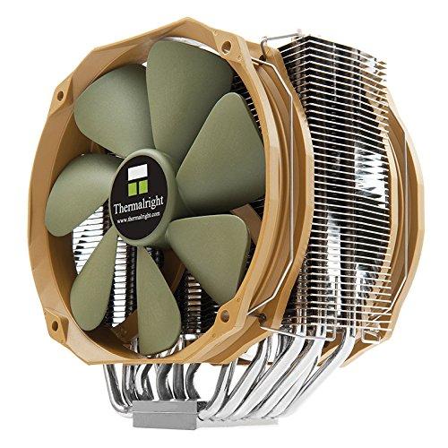 Thermalright 100700544 Archon IB-E X2, Universeller High End CPU-Kühler für Für Intel Und AMD CPUs, 6x 6mm Heatpipes, 2 x TY 141 PWM-Lüfter (900 - 1.300 U/Min,17-21 dBA, 96,2 - 125,7 m³/h) -