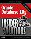 Oracle Database 10g Insider Solutions