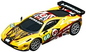Carrera Go - 20061244 - Voiture Miniature et Circuit - Ferrari 458 GT2 - JMW Motorsports - No.66