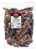EcoStar Hunde Snack Lammlunge 1kg, 1er Pack (1 x 1 kg)