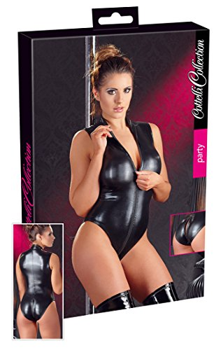 Cottelli-Access-All-Areas-Wet-Look-Zip-Round-Body