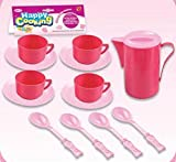 Kids Cooking Chef Kitchen Playset Toys | Cups | Plates | Spoons | Jug | Tableware Appliances Pretend Play Set