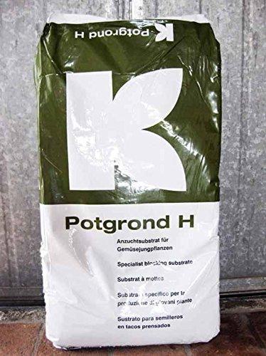 Geosism & Nature Terre pour Potager et légumes (Potgrond H - Klasmann) (c.ca 29 kg - 70 lt)