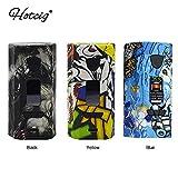 Cigarette électronique Hotcig G217 TC Box MOD 217W avec écran coloré de 0,96 pouces, ni liquide, ni nicotine (noir)